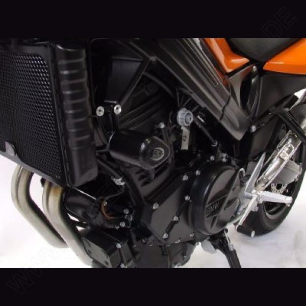 """R&G Racing Crash Protectors """"No Cut"""" BMW F 800 R 2009-2014"""