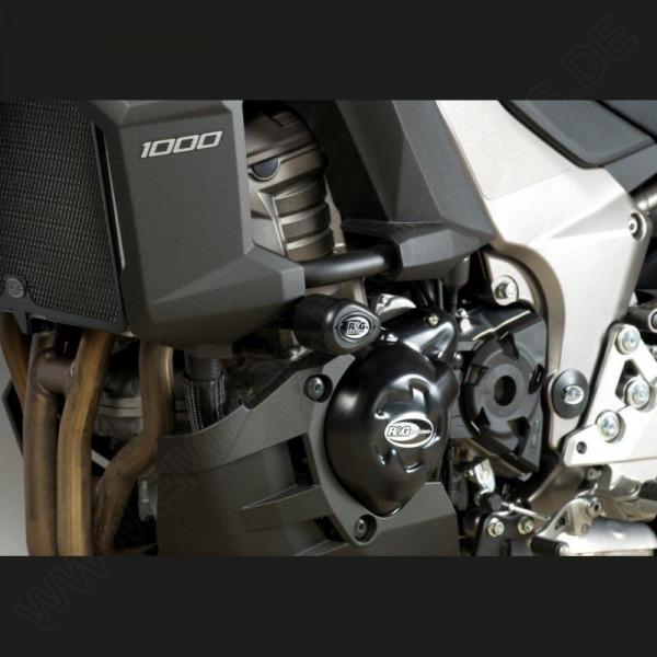 "R&G Racing Crash Protectors ""No Cut"" Kawasaki Versys 1000 2012-2018"