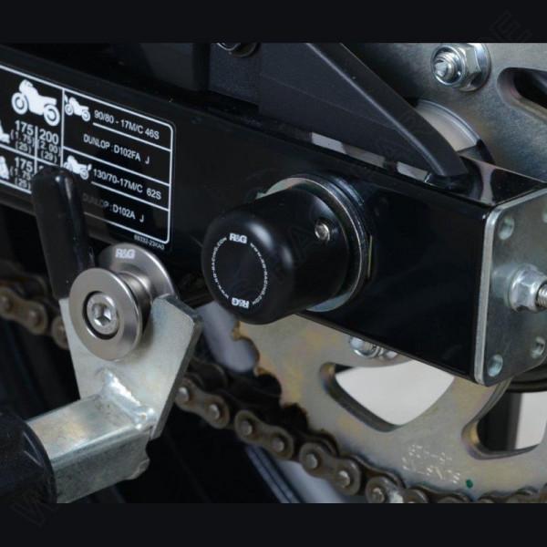 R&G Racing Swingarm Protectors Suzuki GSX-S 125 / GSX-R 125 2017-