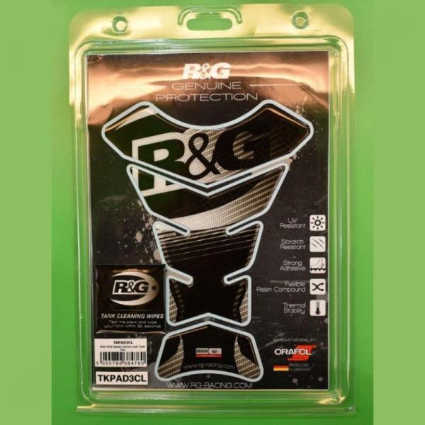 """R&G Racing BSB Series Tank Pad """"Carbon"""""""