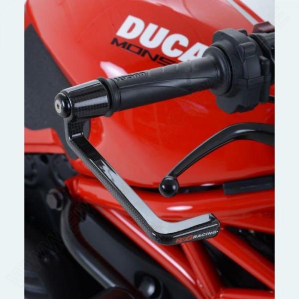 R&G Carbon Bremshebel Schutz Ducati Monster 1200 R 2016- / Scrambler 1100 / KTM 690 SMC-R ´19-