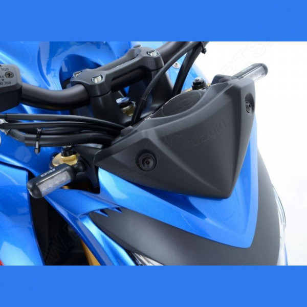 R&G Indicator Adapter Kit front Suzuki GSX-S 1000 2015- / SV 650 X 2018-