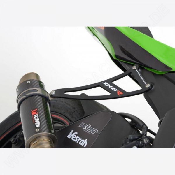 R&G Racing Auspuffhalter Set Kawasaki ZX-6 R 2009-