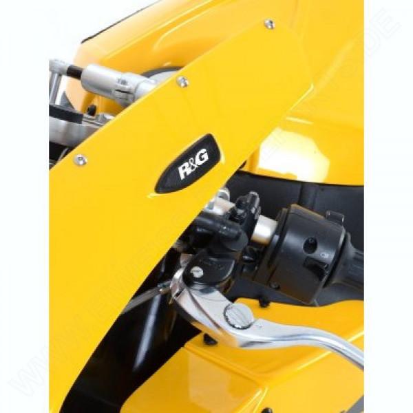 R&G Racing Mirror Blanking Plates EBR 1190 RX 2014-