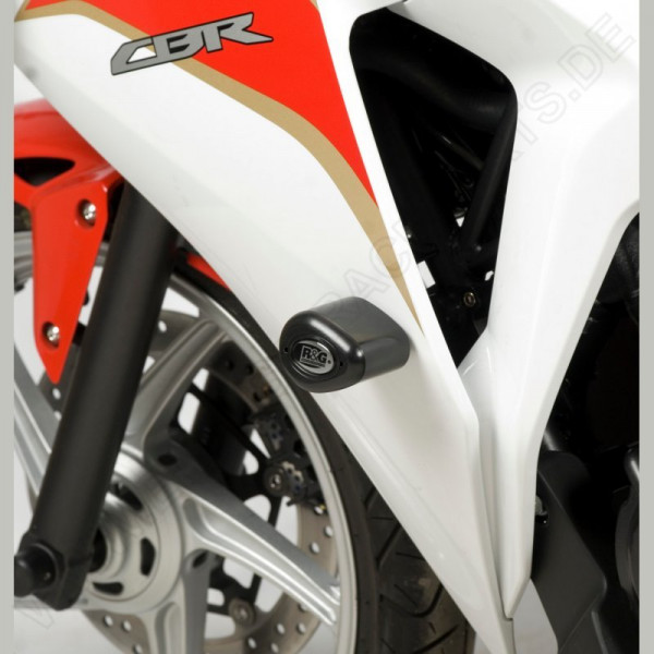 R&G Racing Crash Protectors Honda CBR 250 R / WK SP 250 verkleidet