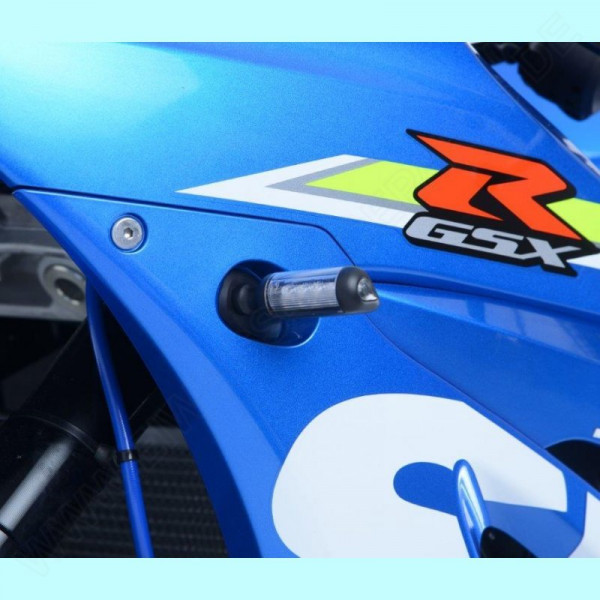 R&G Indicator Adapter Kit front Suzuki GSX-R 1000 2017- / GSX-S 1000 Katana 2019-