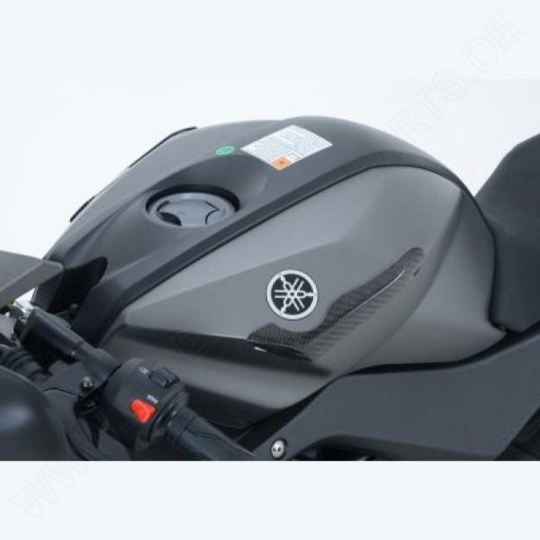 R&G Racing Carbon tank protector Yamaha YZF-R 125 2008-2018