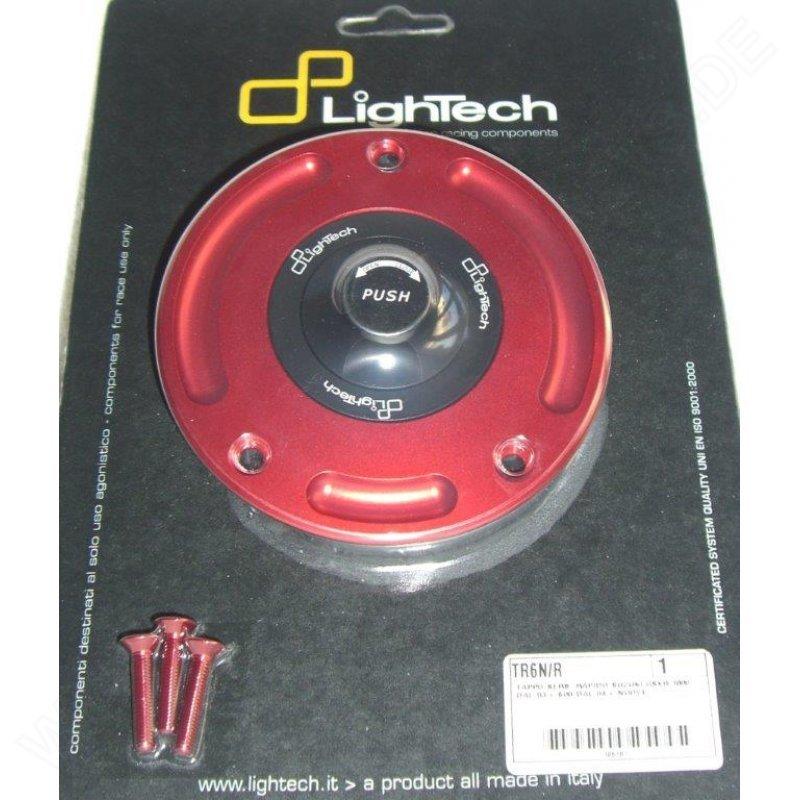 GSXS 750// 1000 rot Lightech Tankdeckel Schnellverschluss Suzuki GSXR 1000