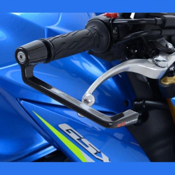 R&G Carbon Brake Lever Guard Suzuki GSX-S 750 / Triumph Street Triple 765 / Yamaha R6 2017-