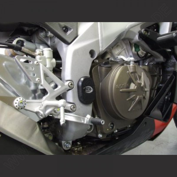 R&G Racing Rahmen Abdeckung Set Aprilia RSV 4 Factory