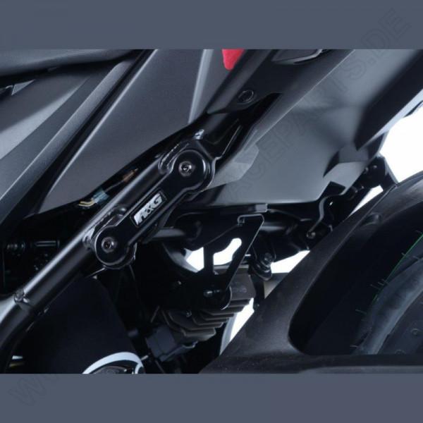 R&G Rear Foot Rest Plates Suzuki GSR 750 / GSX-S 750