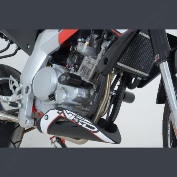 "R&G Racing Crash Zero ""No Cut"" Rieju RS 3 125 Naked 2013-"