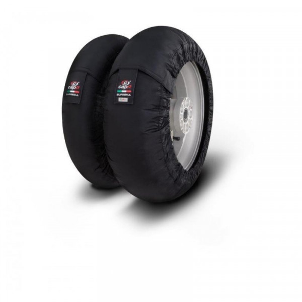 """NEW Capit Tyre Warmers Suprema Spina FR:120/17"""" RE:185-205/16-17"""