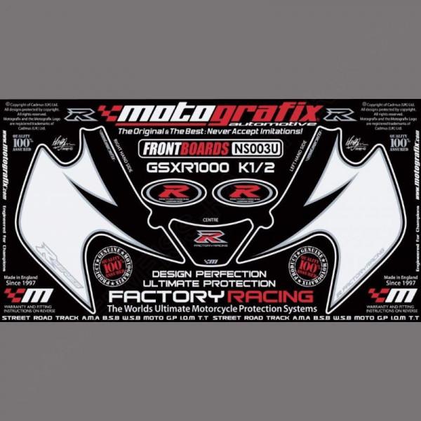 Motografix Stone Chip Protection front Suzuki GSX-R 1000 2001-2002 NS003U