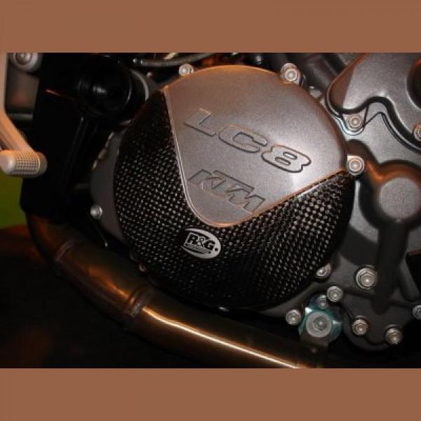 R&G Carbon Kevlar Clutch Protector KTM 990 SMT