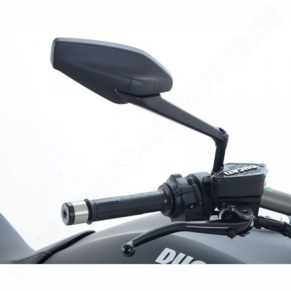 R&G Racing Mirror Extenders Ducati Diavel / XDiavel