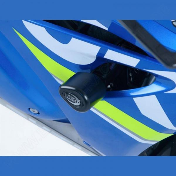 """R&G Racing Crash Protectors """"No Cut"""" Suzuki GSX-R 1000 2017-"""