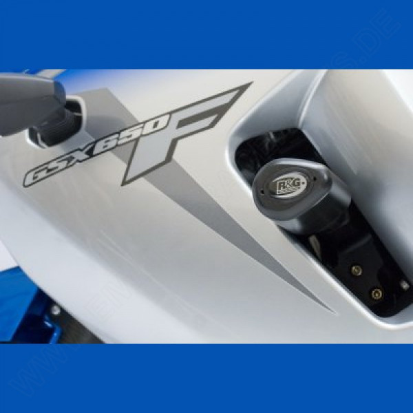 "R&G Racing Crash Protectors ""No Cut"" Suzuki GSX 650 F 2010-"