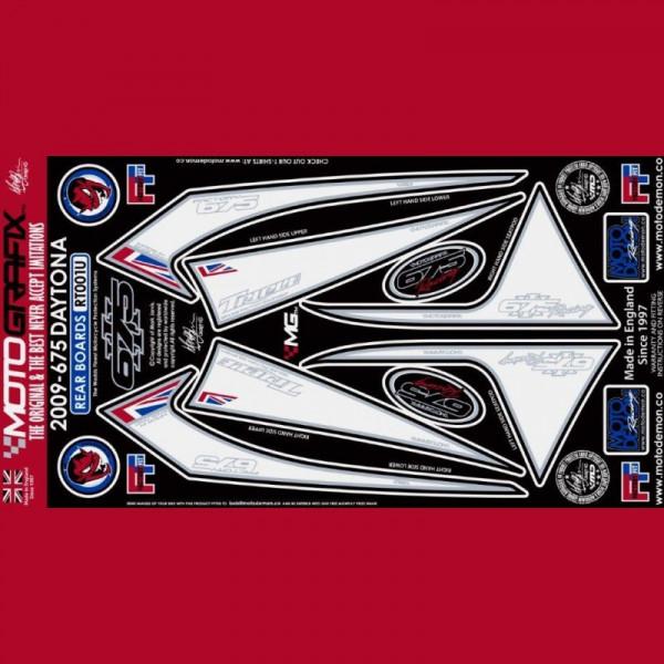 Motografix Stone Chip Protection tail Triumph Daytona 675 2009-2012 RT001U