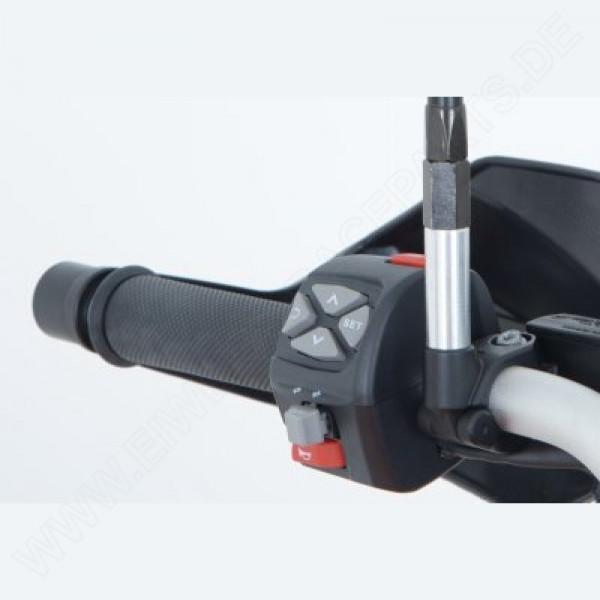 R&G Spiegel Verlängerungen Honda CRF 250 L / M 2013- / Rally / CRF 300L 2021-