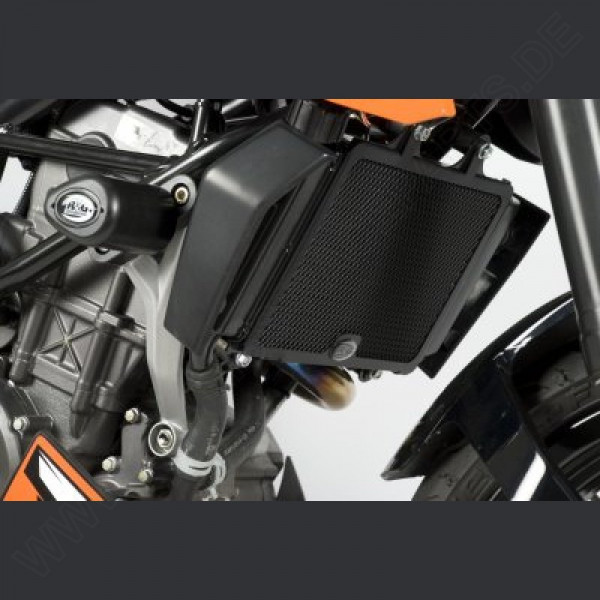 R&G Racing Radiator Guard KTM Duke 200 2012-