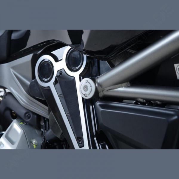 R&G Racing frame plug kit Ducati XDiavel 2016-
