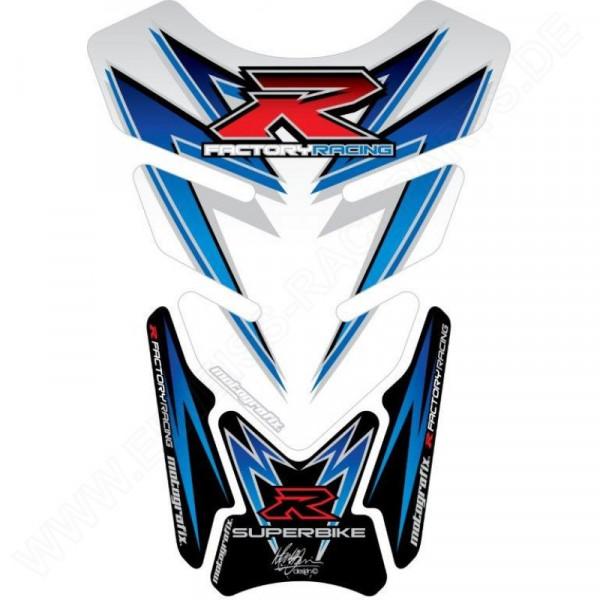 Motografix Suzuki GSX-R 600 750 1000 3D Gel Tank Pad Protector TS016W