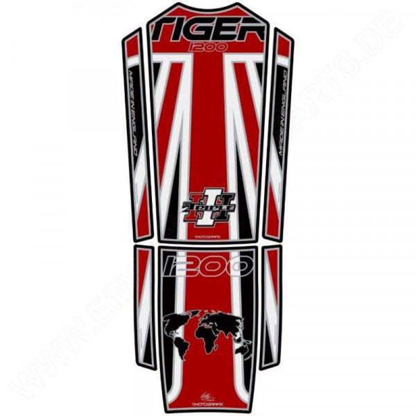 Motografix Triumph Tiger Explorer 1200 3D Gel Tank Pad TT028RKJ