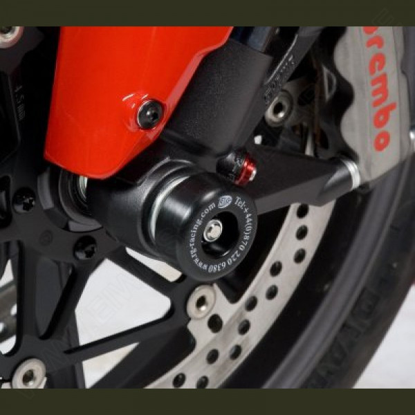 R&G Racing Fork Protectors Ducati 848 Streetfighter
