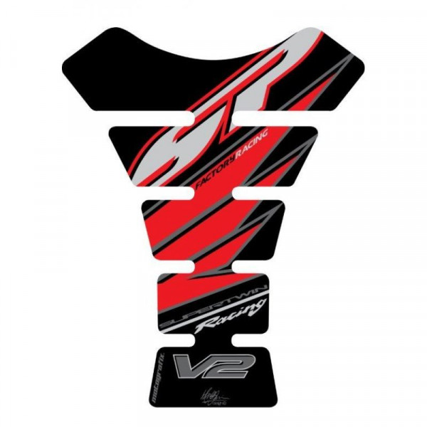Motografix Honda V2 VTR SP1 / SP2 3D Gel Tank Pad Protector TH003K