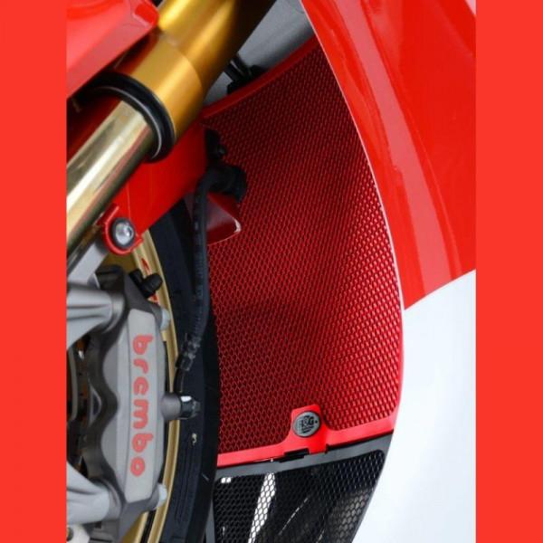 "R&G Racing Radiator Guard ""RED"" Honda CBR 1000 RR / SP 2008-2016"