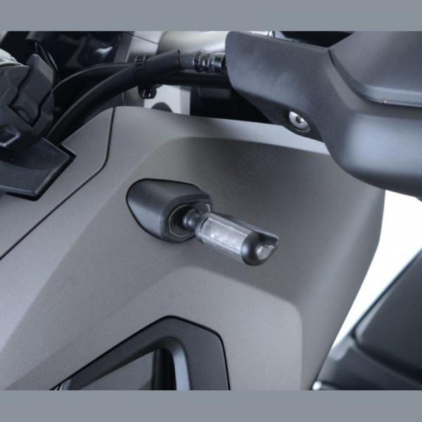 R&G Indicator Adapter Kit front Honda X-ADV 2017- / CB 650 R / CBR 650 R 2019-