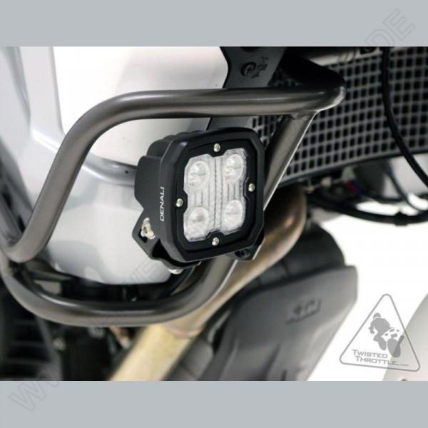 Denali Zusatzscheinwerferhalterung für Sturzbügel (21mm-29mm Durchmesser)