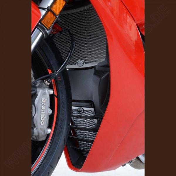 R&G Radiator & Oil Cooler Guard Set Ducati Supersport 2017-