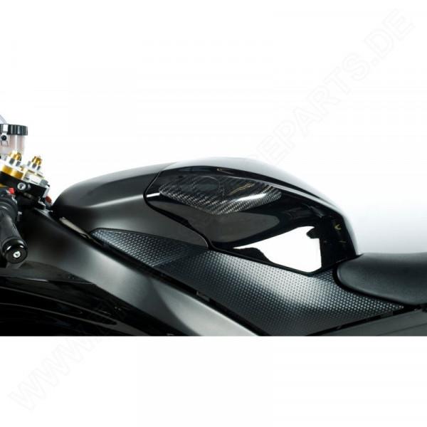 R&G Racing Carbon tank protector Yamaha YZF R6 2008-2016