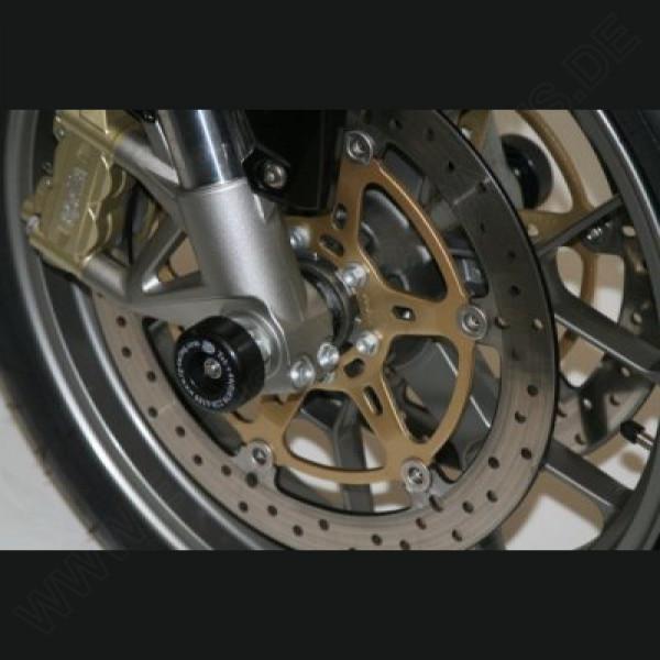 R&G Racing Fork Protectors Aprilia Mana 2008-