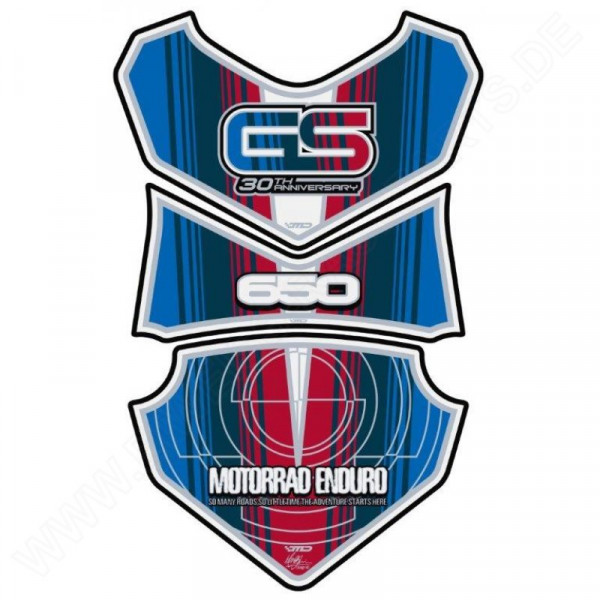 BMW GS 650 Motografix 3D Gel Tank Pad Protector TB012AN