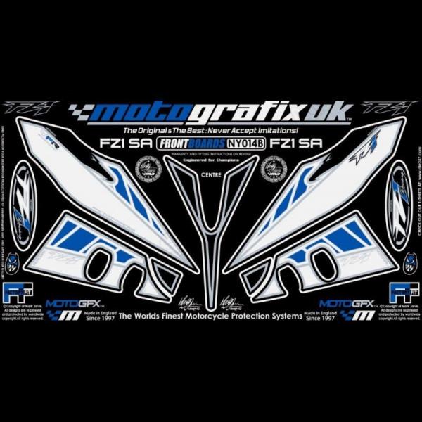 Motografix Stone Chip Protection front Yamaha FZ 1 2006- NY014B