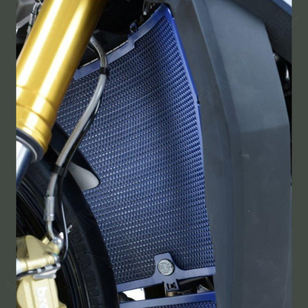 R&G Racing Radiator Guard Dark Blue BMW S 1000 RR 2015-2018