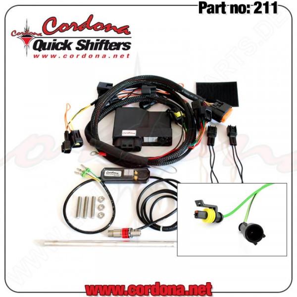 Cordona Precision Quickshifter 8 Aprilia RSV Mille / RSV Tuono / SL 1000 Falco
