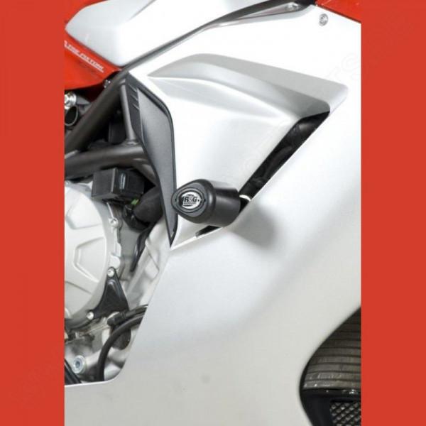 """R&G Crash Protectors """"No Cut"""" MV Agusta F3 675 2012-2016 / F3 800 2013-"""