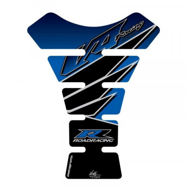 Motografix Honda V4 Road Racing Blue 3D Gel Tank Pad Protector TH005B
