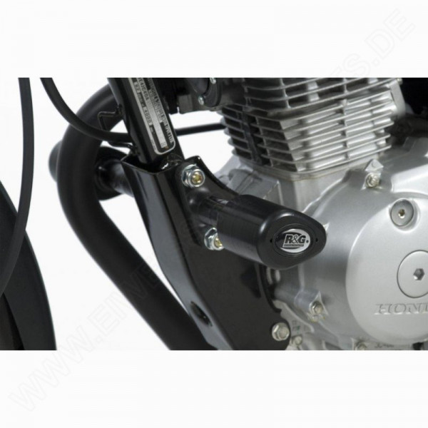 """R&G Racing Crash Protectors """"No Cut"""" Honda CBF 125 2009-"""