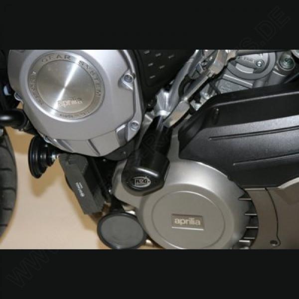 """R&G Racing Crash Protectors Kit """"No Cut"""" Aprilia Mana"""