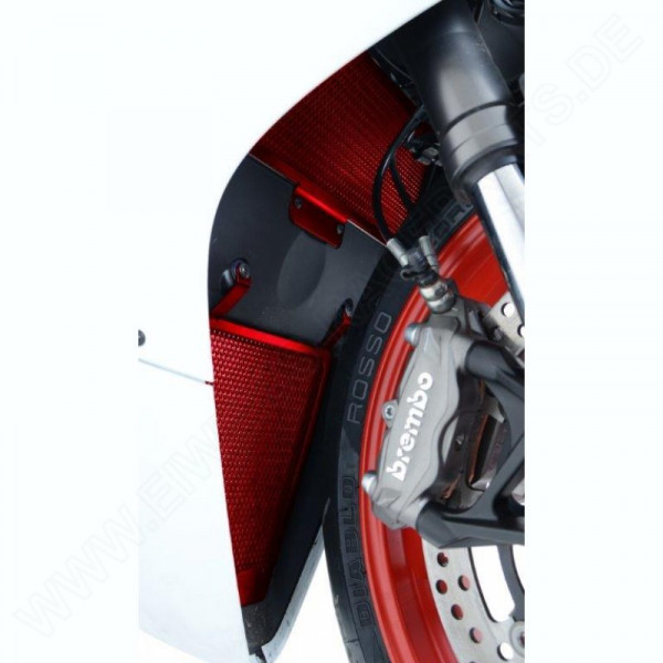 "R&G Racing Kühlergitter Set ""RED"" Ducati Panigale 899 / 1199"