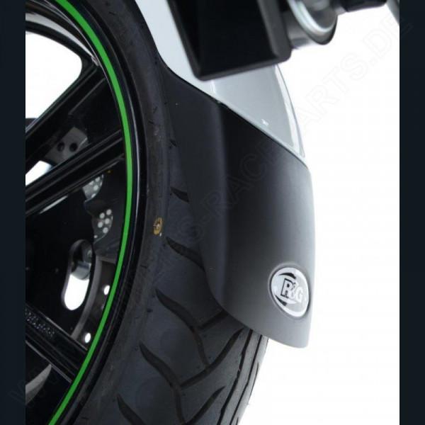"R&G Racing Fender Extender ""BLACK"" Aprilia Tuono V4 1100 2015-"