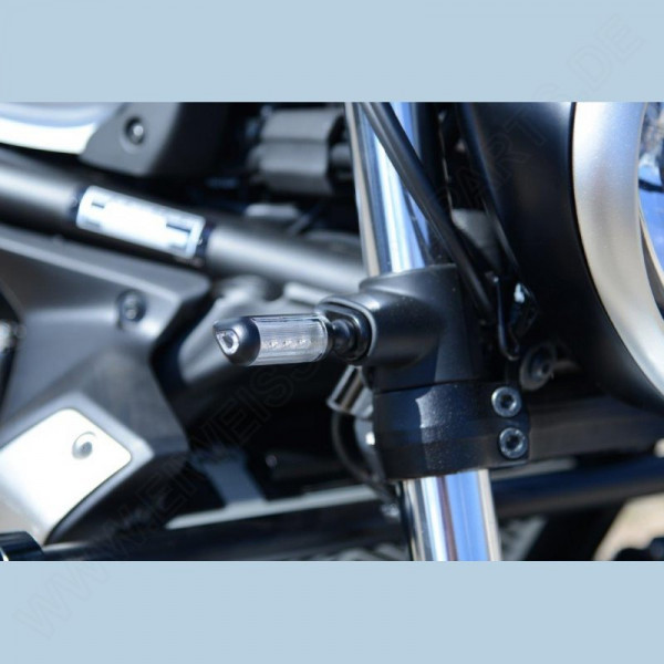 R&G Racing Blinker Adapter Set vorn Kawasaki Vulcan S 2015- / Vulcan Cafe