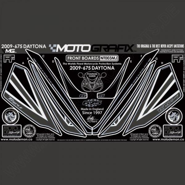 Motografix Steinschlagschutz vorn Triumph Daytona 675 2009-2012 NT003MJ