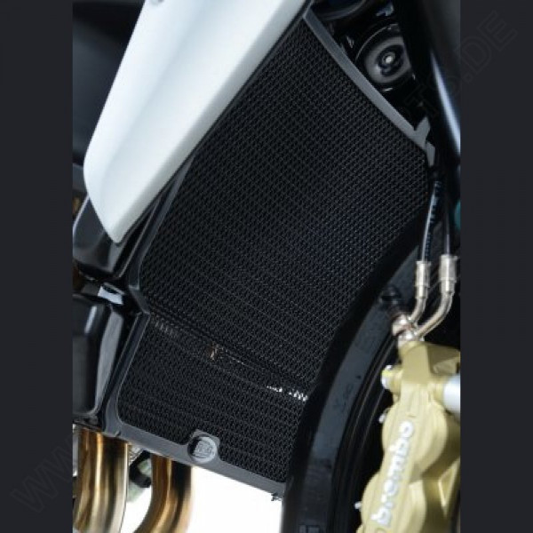 R&G Radiator Guard Water & Oil MV Agusta Rivale 800 2014-
