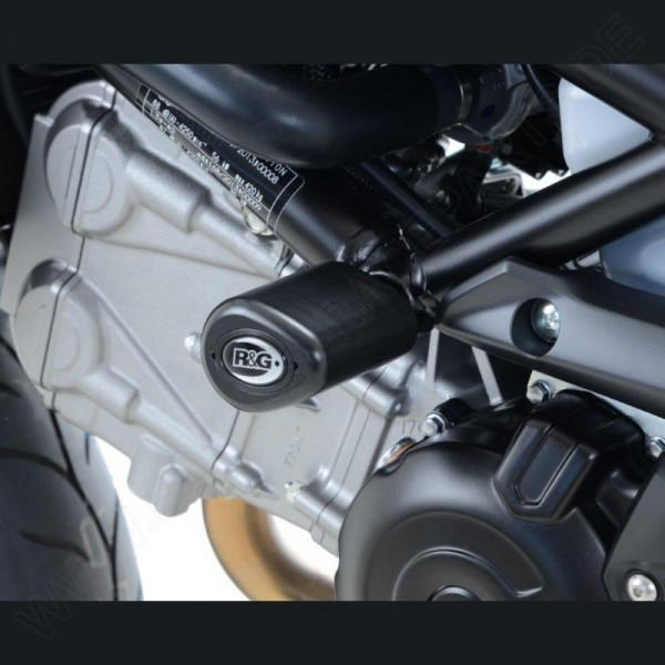 """R&G Racing Crash Protectors """"No Cut"""" Suzuki SV 650 2016- / SV 650 X 2018-"""